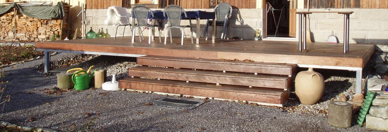 Terrasse Unterkonstruktion : Terrasse Unterkonstruktion Stahl Pictures to pin on Pinterest